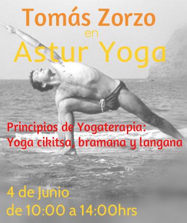 Tomás Zorzo en Asturyoga